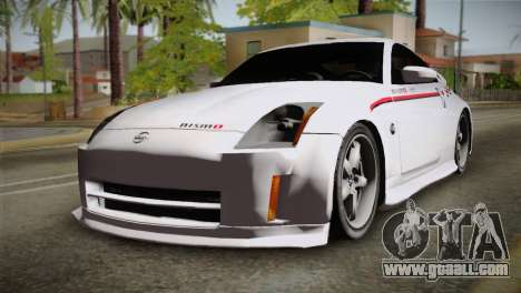 Nissan 350Z Nismo for GTA San Andreas