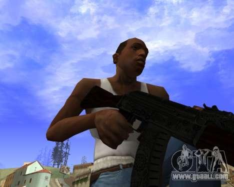 Skins Weapon pack CS:GO for GTA San Andreas ninth screenshot