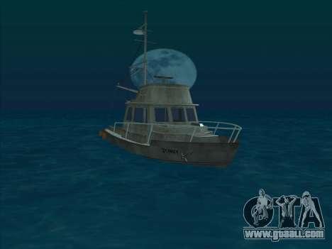 Reefer из GTA 3 for GTA San Andreas left view
