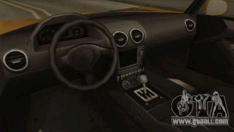 GTA 5 Coil Voltic v2 SA Mobile for GTA San Andreas back view