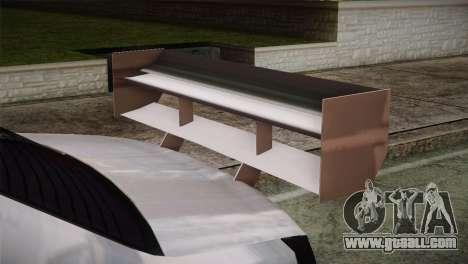 Dacia Logan Most Wanted Edition v2 for GTA San Andreas right view