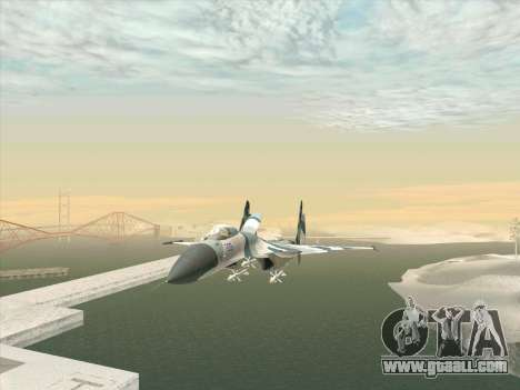 Su 27 for GTA San Andreas right view
