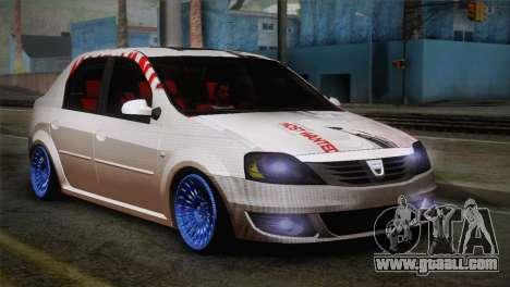 Dacia Logan Most Wanted Edition v3 for GTA San Andreas