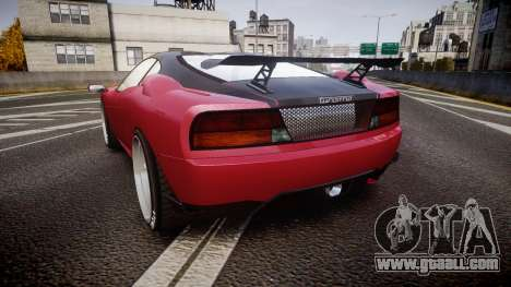 Grotti Turismo GT Carbon v3.0 for GTA 4 back left view