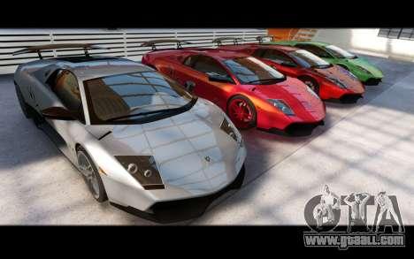 Forza Motorsport 5 Garage for GTA 4 ninth screenshot