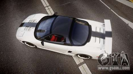 Honda NSX 1998 [EPM] nsx-r for GTA 4 right view