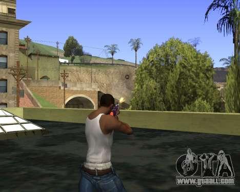 Skins Weapon pack CS:GO for GTA San Andreas sixth screenshot