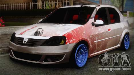 Dacia Logan Most Wanted Edition v2 for GTA San Andreas