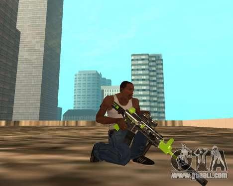 Sharks Weapon Pack for GTA San Andreas fifth screenshot