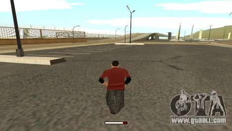 SprintBar for GTA San Andreas