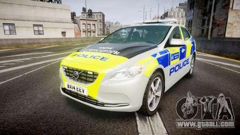 Volvo V40 Metropolitan Police [ELS] for GTA 4
