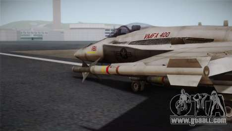 F-18 Hornet (Battlefield 2) for GTA San Andreas right view