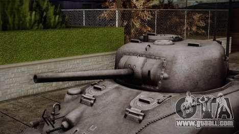 M4 Sherman for GTA San Andreas back view
