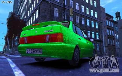 Lada 2115 for GTA 4 left view