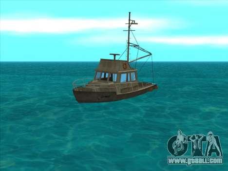 Reefer из GTA 3 for GTA San Andreas