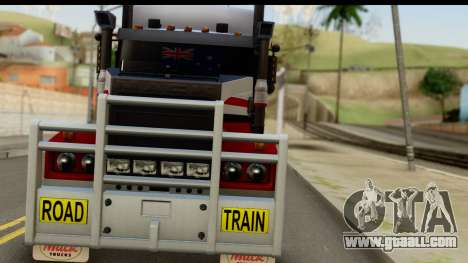 Mack Superliner 6x4 for GTA San Andreas back view