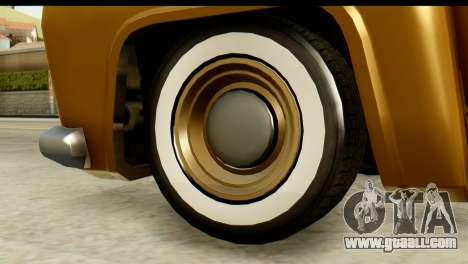 EFLC TLaD Vapid Slamvan for GTA San Andreas back left view