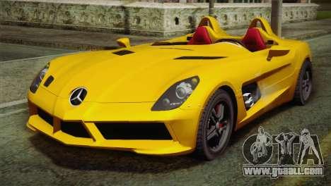 Mercedes-Benz SLR McLaren Stirling Moss for GTA San Andreas