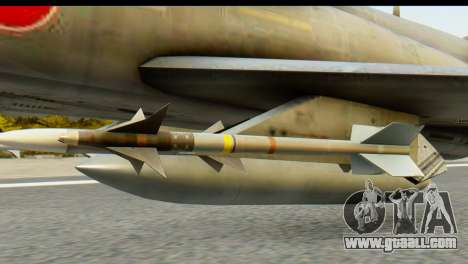 F-4EJ Mitsubishi Heavy Industries for GTA San Andreas right view