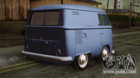 Volkswagen T1 Short for GTA San Andreas left view