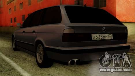 BMW M5 E34 Touring for GTA San Andreas left view