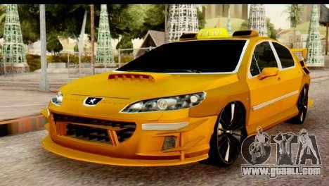 Peugeot 407 Sport Taxi for GTA San Andreas