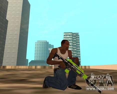 Sharks Weapon Pack for GTA San Andreas forth screenshot