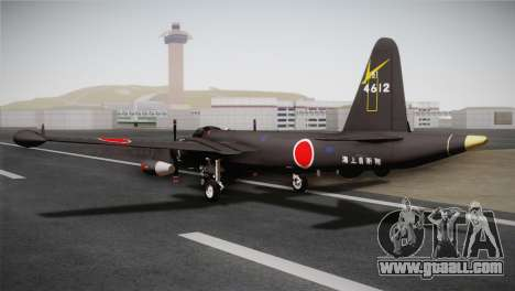 P2V-7 Lockheed Neptune RCAF for GTA San Andreas left view