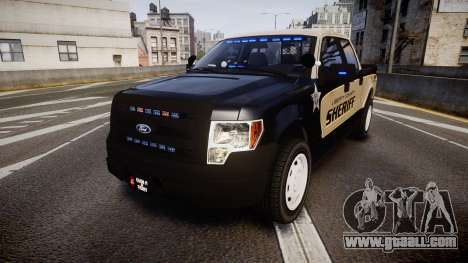Ford F150 Liberty County Sheriff [ELS] Slicktop for GTA 4