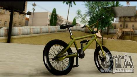 GTA 5 BMX for GTA San Andreas left view