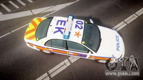Vauxhall Omega Metropolitan Police [ELS] for GTA 4 right view