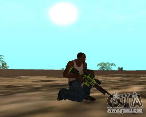 Sharks Weapon Pack for GTA San Andreas tenth screenshot