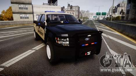 Ford F150 2010 Liberty County Sheriff [ELS] for GTA 4