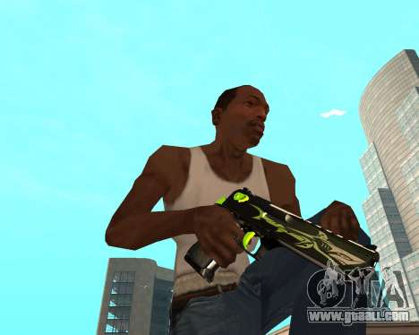 Sharks Weapon Pack for GTA San Andreas