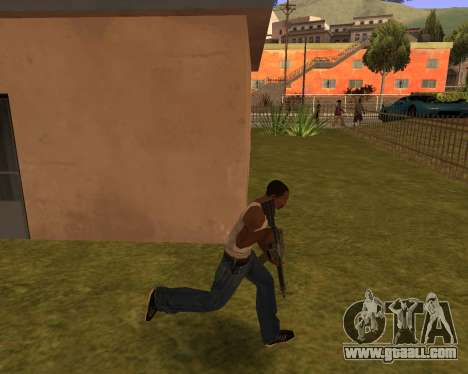 New Animation by EazyMo for GTA San Andreas third screenshot