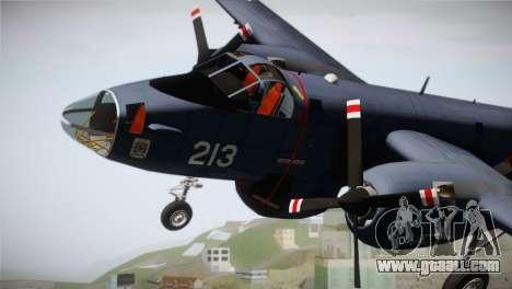 Lockheed P2V-7 Neptune MLD for GTA San Andreas right view