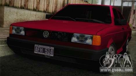Volkswagen Senda for GTA San Andreas back view