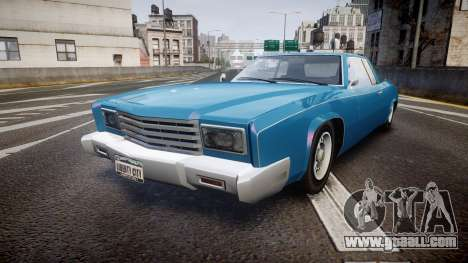Albany Buccaneer San Andreas Style for GTA 4