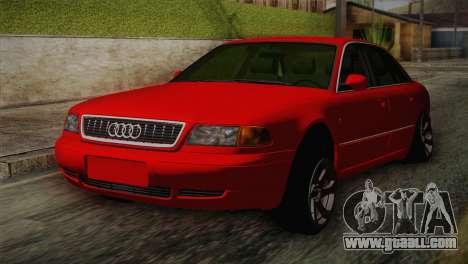 Audi A8 2000 for GTA San Andreas