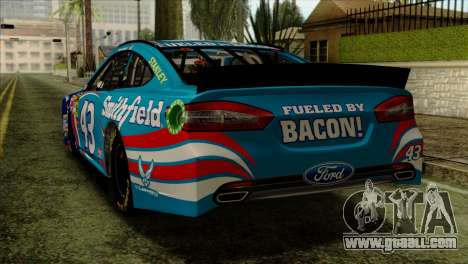 NASCAR Ford Fusion 2013 for GTA San Andreas left view