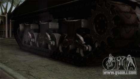 M4 Sherman for GTA San Andreas right view