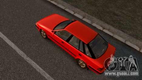 Daewoo Espero 2.0 CD 1996 for GTA 4 back left view