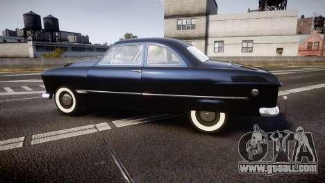 Ford Custom Club 1949 v2.1 for GTA 4 left view