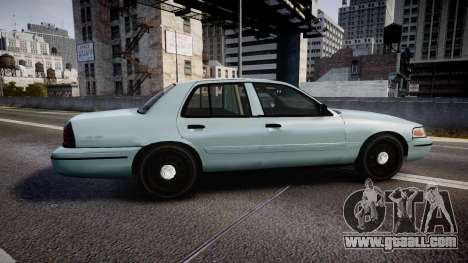 Ford Crown Victoria 2007 for GTA 4 left view