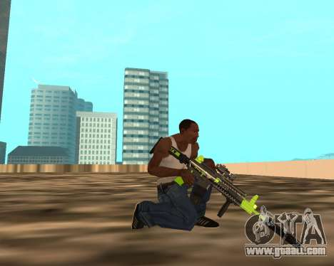 Sharks Weapon Pack for GTA San Andreas sixth screenshot