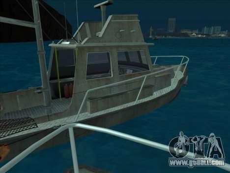 Reefer из GTA 3 for GTA San Andreas back view
