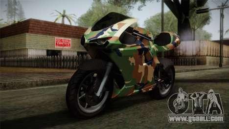 GTA 5 Bati MIX for GTA San Andreas
