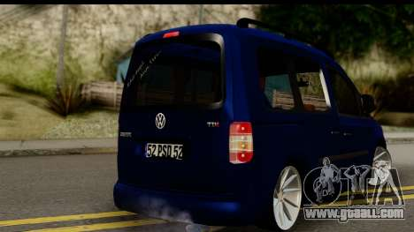 Volkswagen Caddy v1 for GTA San Andreas left view