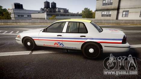 Ford Crown Victoria 2007 American Airlines for GTA 4 left view