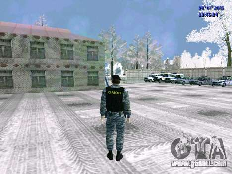 The OMON fighter for GTA San Andreas forth screenshot